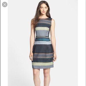 Hugo boss 'Dicoris' Stripe Sheath Dress